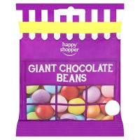 HAPPY SHOPPER GIANT CHOCOLATE BEANS 75G