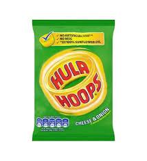 HULA HOOPS CHEESE & ONION 34G