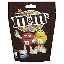 M & M CHOCOLATE POUCH 133G