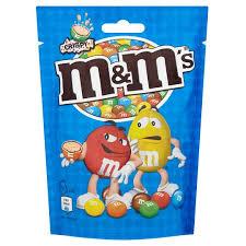 M & M CRISPY POUCH 121G