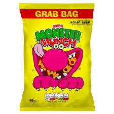 MONSTER MUNCH BEEF MEGA 40g