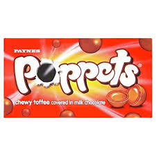 POPPETS CHEWY TOFFEE 41G