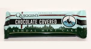 QUIGGIN'S KENDAL CHOC MINT CAKE 50G