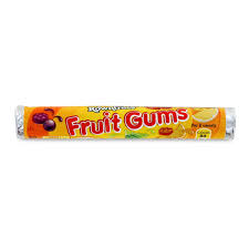 ROWNTREE'S FRUIT GUM ROLL 48G