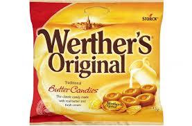 WERTHER'S ORIGINAL BUTTER CANDY 135g