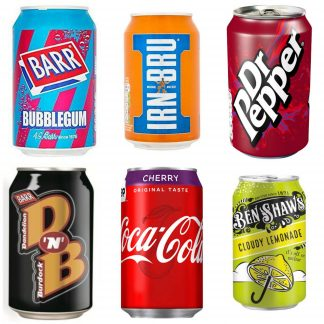 Drinks - Cans & Ice Pops